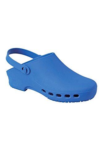 Robinson OP Clogs - Zuecos médicos, color azul, color Azul, talla 38/39 EU