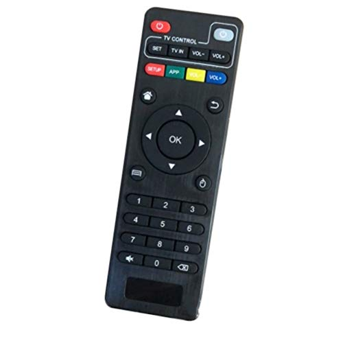 Reemplazar control remoto Sustitución de control remoto inalámbrico for H96 Pro / V88 / MXQ / Z28 / T95X / T95Z Plus / TX3 X96 Mini Android TV Box for Android Smart TV Box Adecuado para televisión int