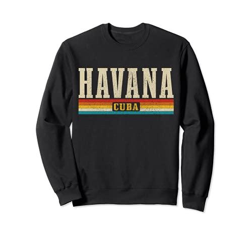 Havana Vintage Cuba Havanna Kuba Karibik Souvenir Sweatshirt