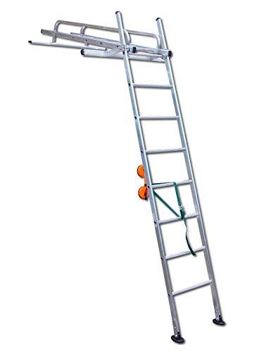 Heavy Duty Conservatory Cleaning Ladder biedt stabiele, veilige platform om Conservatory Windows schoon te maken