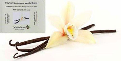 OliveNation Gourmet Madagascar Vanilla Beans 1/4 lb