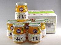 砂糖不使用たっぷり果実入り低糖度40度・愛媛県産柚子ゆずジャム300g×6入り【ケース販売】(0420300×6)伊豆フェルメンテ