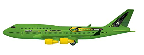 Toyzone Ben 10 Kids Toy Air Bus Friction Powered Aero Plane -Multicolour