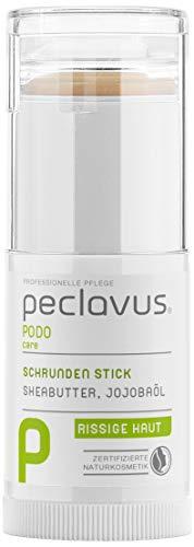 Ruck Peclavus Schrunden Stick mit Sheabutter und Jojobaöl, Schrundensalbe gegen Hornhaut und Risse an der Fußhaut