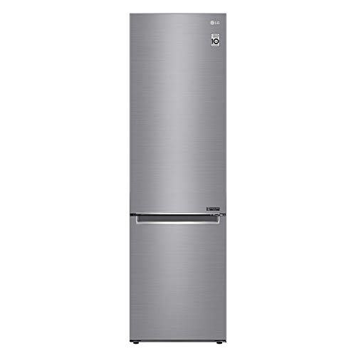 LG GBB62PZGFN Freestanding 70/30 Fridge Freezer With Linear Compressor - Stainless Steel