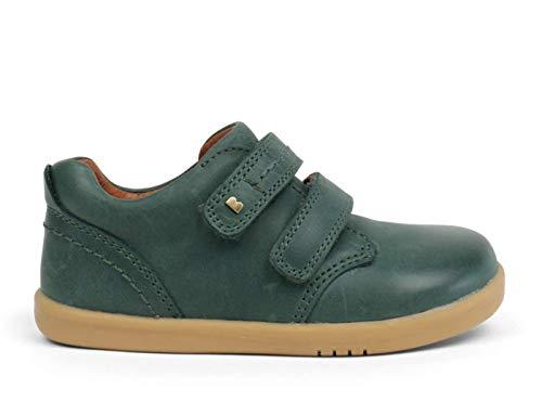 Bobux I-Walk Port Dress Shoe_Caminantes - Una Zapatilla Deportiva en Piel de Suela Flexible. Ideal para Todas Las situaciones del Otoño-Invierno (Forest, 23)