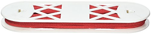 "Decorative Trimmings 02781-8-024Y-037 File Braid Trim, 1/4"" x 24 yd, Red"