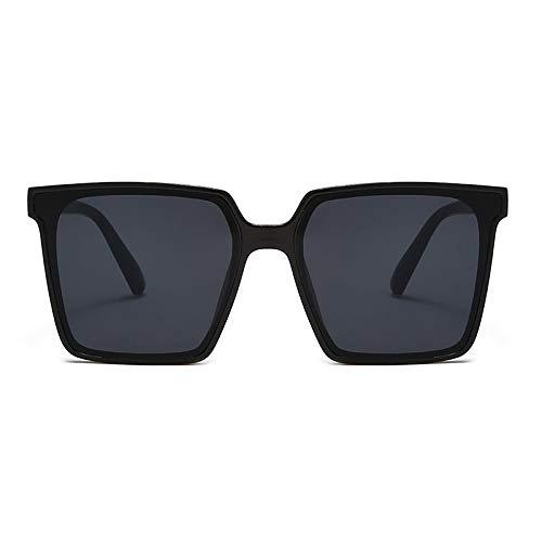 Gafas de Sol Gafas De Sol para Mujer Espejo Cuadrado Grande Gafas De Diseñador De Lujo Gafas con Montura De Pc Gafas Femeninas Vintage 3