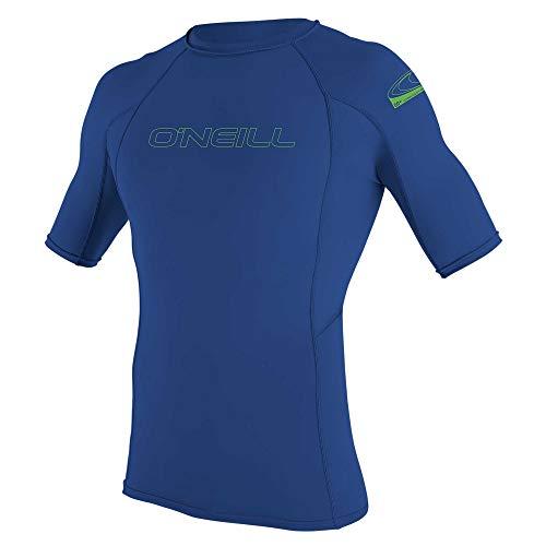 O\'Neill Jungen Shirt Youth Basic Skins Short Sleeve Rash Guard, Pacific, 14, 3345-018-14