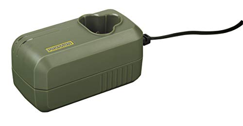 Proxxon 29880 29880-Caricabatterie rapido LG/A2 (per batterie Micromot, con monitoraggio della Temperatura, indicatore LED, Ing