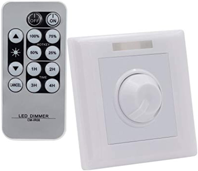 LED Dimmer 1 10V mit Fernbedienung IR LEDKIA