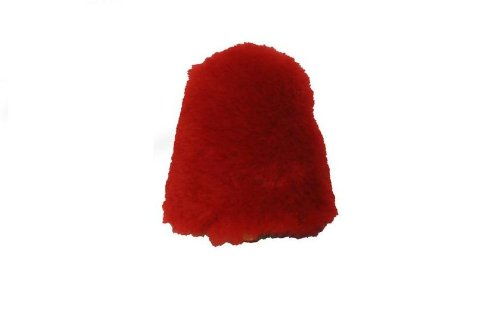 Replacement RED Buffers (Bonnets) for Beck Brand Electric Shoe Polishers