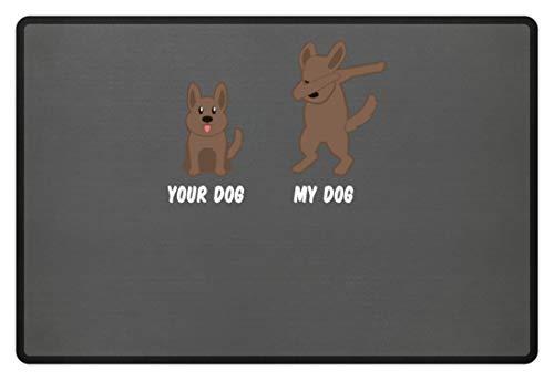 Generieke je hond - Mijn hond/Your Dog - My Dog - Coole hond Dabbing Design dierenliefde motief - deurmat