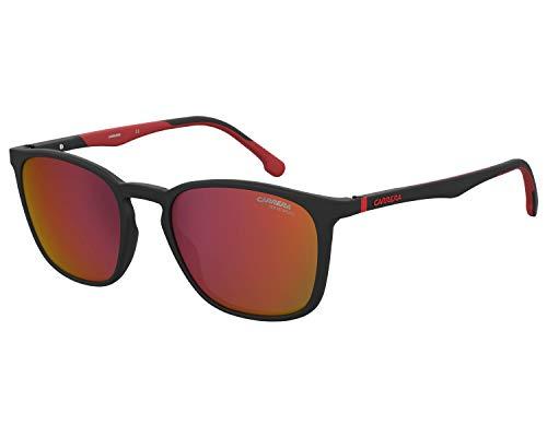 Carrera 8041/S - Gafas de sol unisex para adulto Negro y rojo Talla única