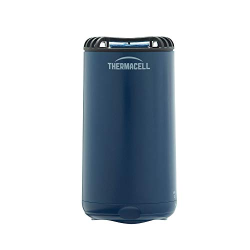 Thermacell Patio Shield Mosquito Repeller, Navy; Easy to Use, Highly Effective; Provides 12 Hours of DEET-Free Backyard Mosquito Repellent; Scent-Free, No Spray, No Smoke and Cordless, Standard