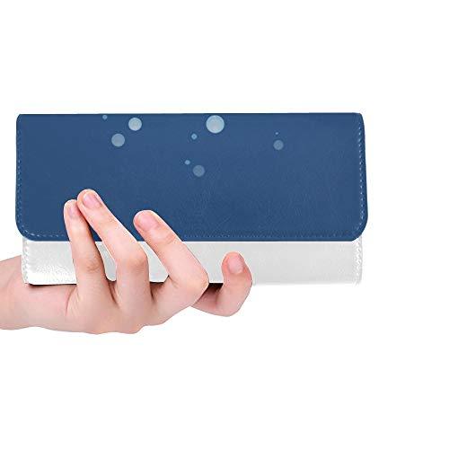 Einzigartige Benutzerdefinierte Badewanne Entspannen Bad Innen Frauen Trifold Brieftasche Lange Geldbörse Kreditkarteninhaber Fall Handtasche