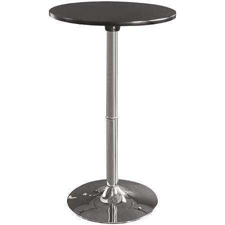 SixBros. Table Haute de Bar Design Noir M-80402-H/159
