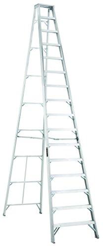 Louisville Ladder FBA_AS1016 Aluminum Step Ladder, 16-Foot