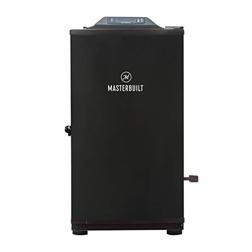Masterbuilt Digital Electric Smoker with Bluetooth & Broiler, Black,...