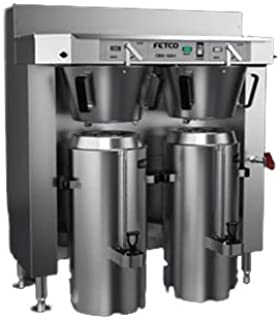 Fetco CBS-62H 6000 Series Twin Coffee Brewer with 3 Gallon Capacity