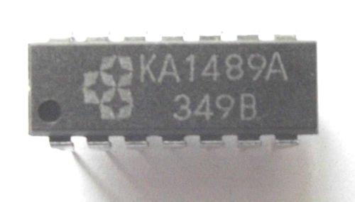 Samsung Ka1489A Quad Receiver Rs-232 14-Pin Pdip