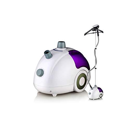 AWJ dampfglätter kleidung professionell,Vertikaler Heißluft-Wäschedampfer mit 1800 W und 45 S und 1,8 l großem Wassertank und 360 ° -Rollbügel für alle Kleidungsstücke,Geschenk