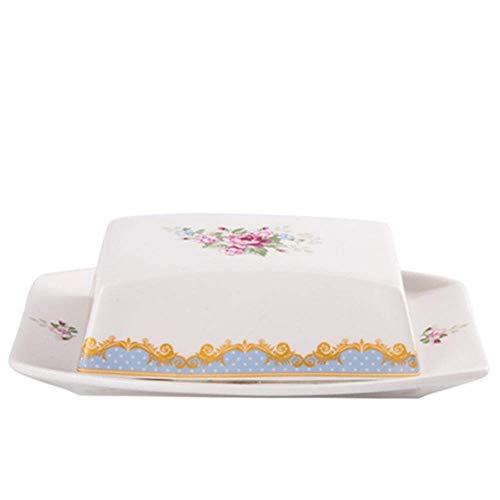 DYB Kit de Cocina para Principiantes, Cesta para freír, Platos para Mantequilla, Plato para Mantequilla de cerámica, Plato para Mantequilla, Plato para Polvo, Plato para Pan