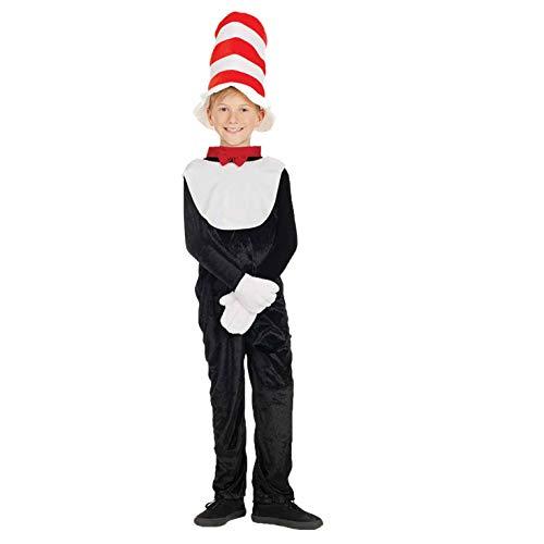 Fun Shack FNK3887XL kostuum, Unisex kinderen, kat met een hoed, X-Large