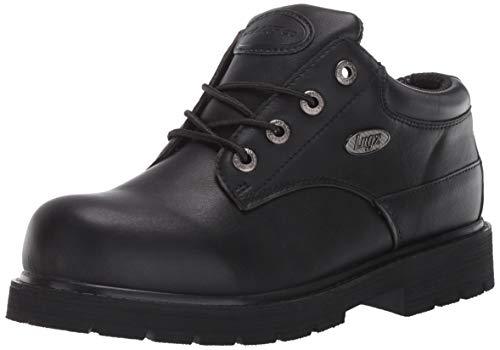Lugz mens Drifter Lo Lx Oxford Boot, Black, 11.5 US