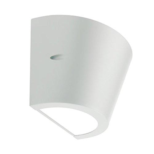 Wandlamp 'Umbe' type conisch, lichtband met hoge lichtbalk. Frame van aluminium. Corrosiewerende behandeling, poeder epoxy lak diffuser van mat polycarbonaat, reflector aan de binnenkant van aluminium. Geschikt voor Lam