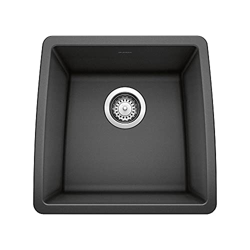 Blanco, anthracite 440079 performa silgranit undermount bar sink,...