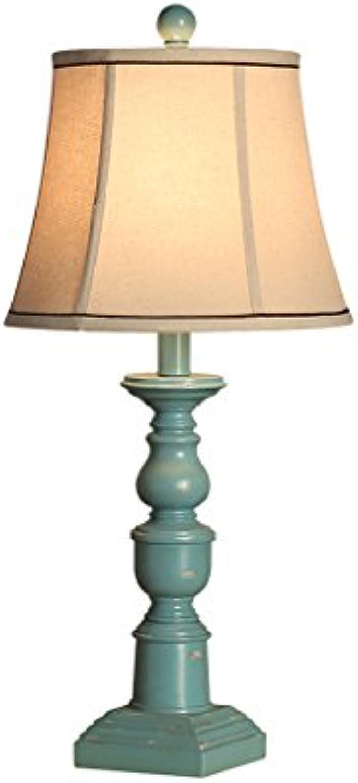 Best wishes shop tischleuchte- Mediterrane Stil Tischlampe American Vintage Warm Hochzeit Wohnzimmer Schreibtischlampe Kreative Innen Wohnkultur Licht E27