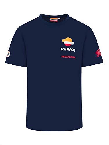 REPSOL RACING MotoGP Blue T-Shirt Offizielle 2020
