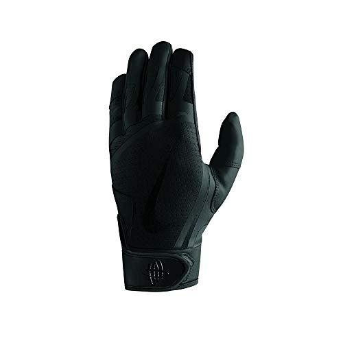 Nike Youth Huarache Edge Batting Gloves Black Size Small