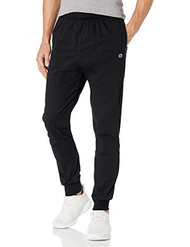 Champion Men's Jersey Jogger, black, S