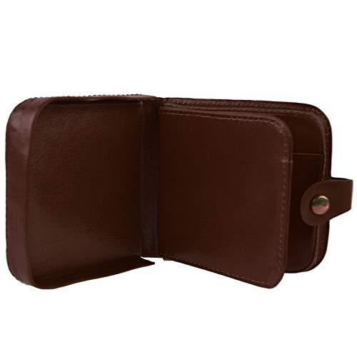 Golunski Qualità top borsellino portafoglio da uomo, in pelle con vassoio portamonete  nero Tan