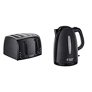 Russell Hobbs Textures Plastic Kettle, 1.7 Litre, 3000 W