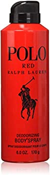Ralph Lauren Men's Polo Deodorizing Body Spray + Ralph Lauren Backpack