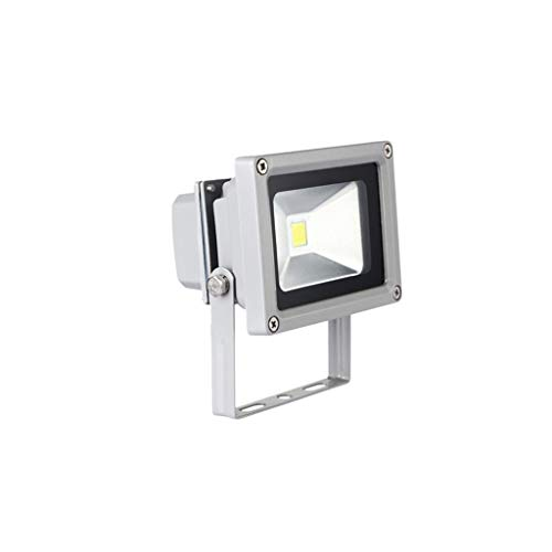 FINDYU Focos LED Exterior Super Brillante Moderno IP65 a Prueba de Agua Seguridad Wall Washer Light Al Aire Libre Jardín Almacén Lámpara de Trabajo Floodlight (Color : Luz Calida, tamaño : 10W)