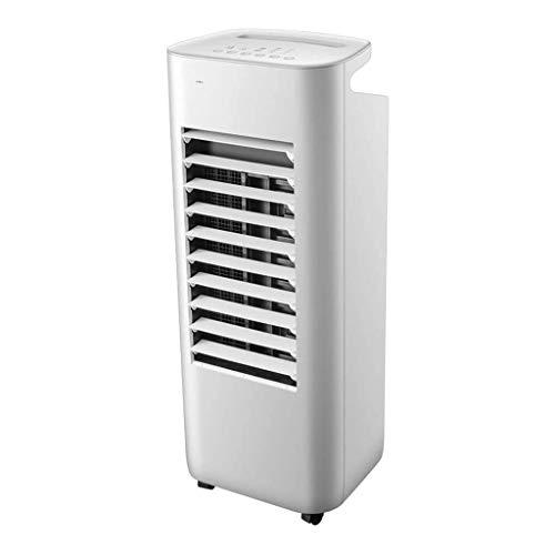 XXCC Draagbare verticale airconditioning, 6 l filterd waterreservoir, huishoudelijk, 62 W ventilator, 4 ventilatorsnelheden, waterreservoir met 6 liter inhoud, afstandsbediening 15 uur