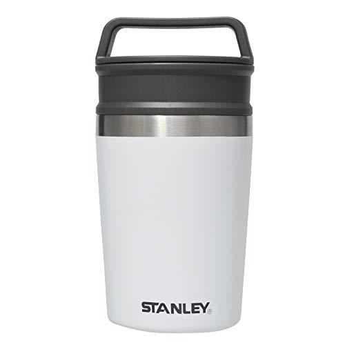 STANLEY(スタンレー) パッケージリニューアル 真空マグ 0.23L ホワイト 保冷 保温 マグ おうちカフェ アウトドア 保証 (日本正規品)