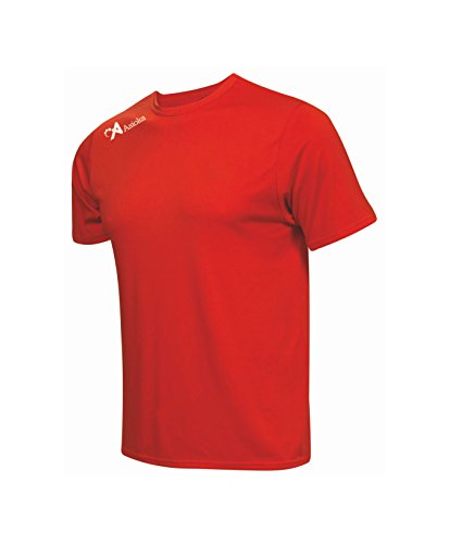 Asioka 130/16 Camiseta Deportiva, Unisex Adulto, Rojo, XL
