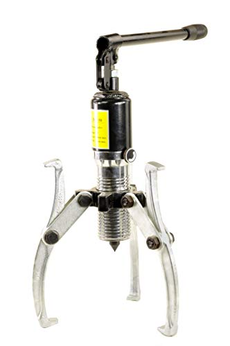Pro-Lift-Werkzeuge Hydraulikabzieher 10t Universal-Lagerabzieher Spannweite 30 mm – 250 mm Innen-/ Außenabzieher hydraulisch 10000kg 3-Arm Abzieher