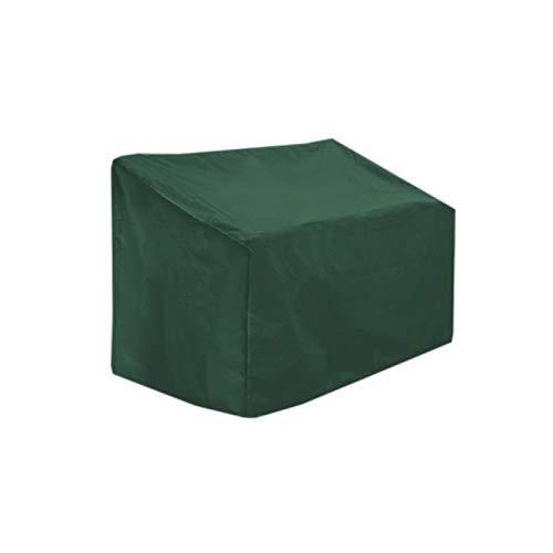 YHNHT Strapazierfähiger Sitzbezug für Terrassensofa, 2-Sitzer, Outdoor, Terrasse, Bank, Sofa, Sitzbezug, wasserdichte Couch, Stuhlbezüge, Outdoor-Möbel, Bank-Abdeckung