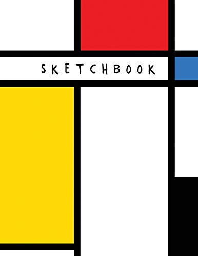 Sketchbook: Neoplasticism Abstract Art | Draw, Doodle, or Sketch (Sketch Book for Artists and Students)