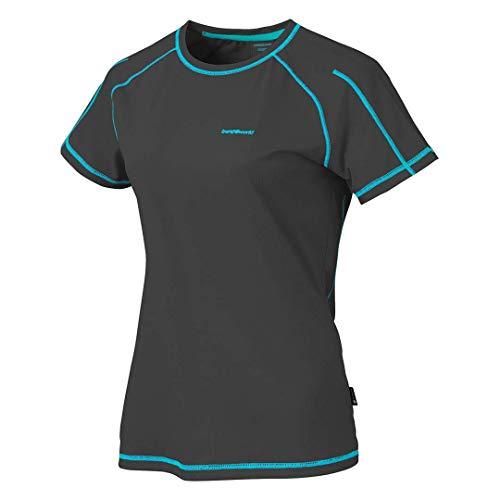 Trangoworld Imma Camiseta, Mujer, Negro, S