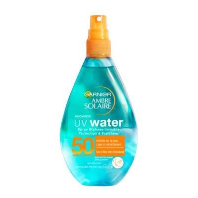 Ambre Solaire soin solaire UV water SP150 IP50 AMBRE SOLAIRE - Le spray de 150ml