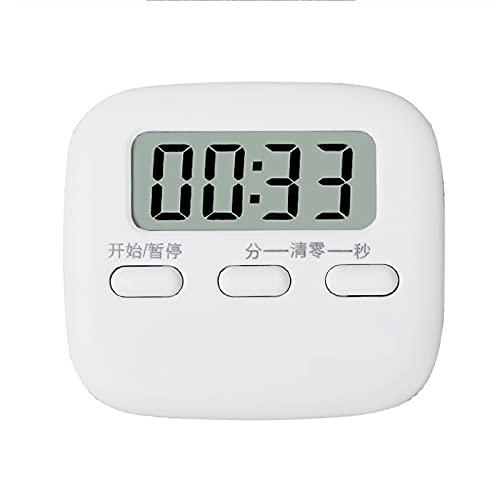 Selotrot Temporizador de cocina, temporizador de cocina digital, cronómetro de cuenta atrás, temporizador electrónico, pantalla LCD multifunción, reloj de cuenta atrás para cocinar y hornear