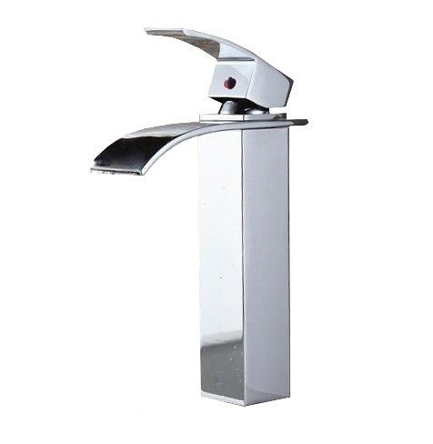 Grifo mezclador para lavabo de baño de una sola manija de latón FALCON '30' REA