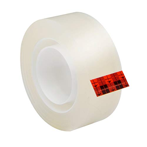 Scotch Brand Super-Hold Tape, Standard Width, 50% More Adhesive, Glossy Finish, Engineered for Repairing, 3/4 x 600 inches, 2 Dispensered Rolls (198DM-2) Photo #2